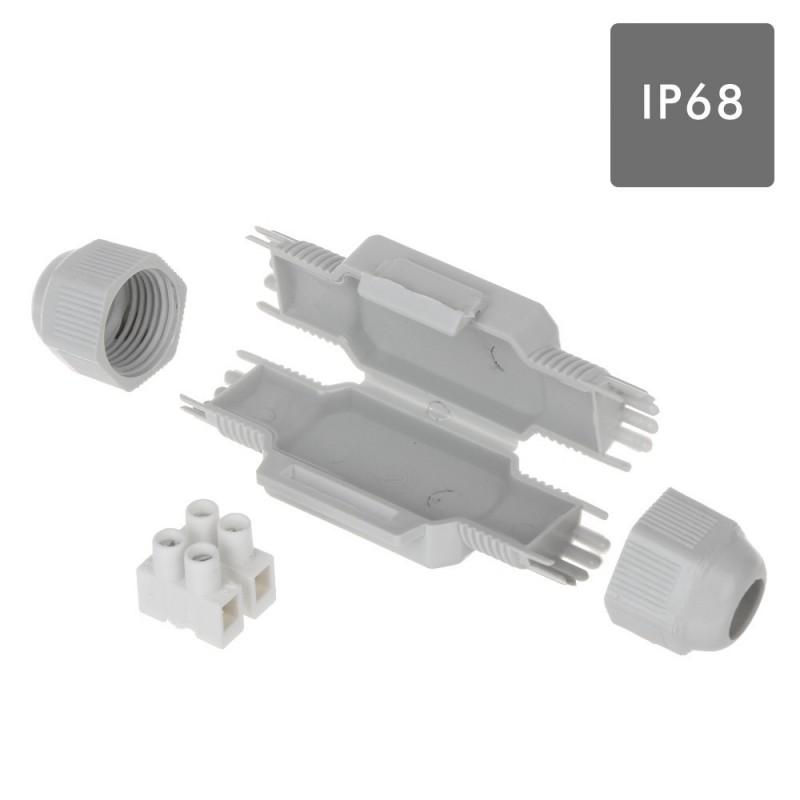 Coffret de connexion étanche IP68 BARNEY 2x2,5mm