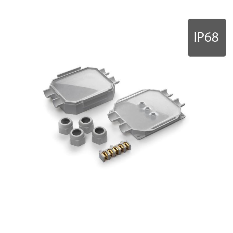 Coffret de connexion étanche IP68 READYBOX 120, 5 connecteurs 6mm2