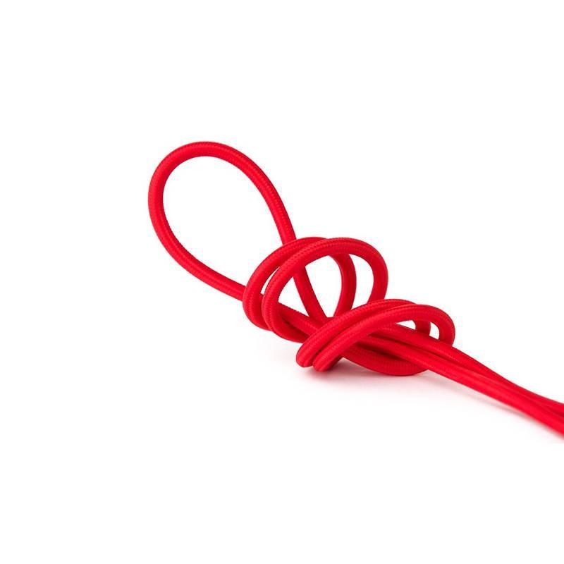 Câble électrique textile 2x0.75 au mètre