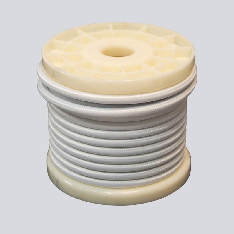 Câble électrique tissu 1 couleur 2 x 0,75 bobine