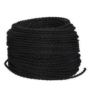 Cable électrique Textile couleur au mètre