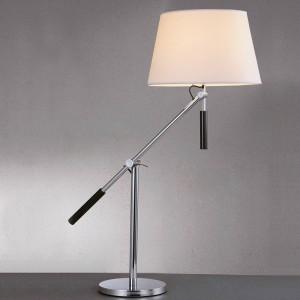 """LAMPE DE TABLE AVEC BRAS ARTICULÉ CHROMÉ E27 """"ARM"""""""