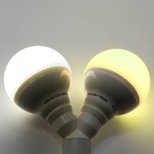 Application ampoule LED