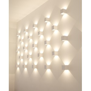 Applique murale LED en carré 6W
