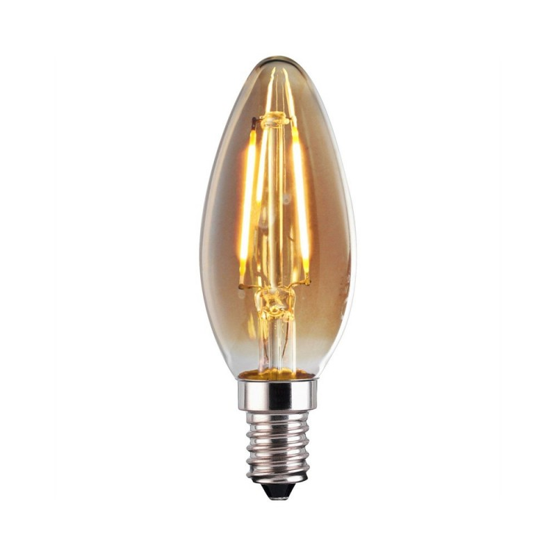 Ampoule LED E14 4W Filament Type bougie Vintage 1800 K