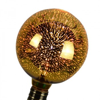 Ampoule LED BIG BANG à filament Gold 3D E27