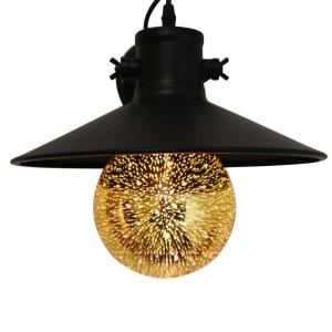 Ampoule LED BIG BANG à filament Gold 3D E27