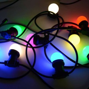 Ampoule LED de couleur E27 1W
