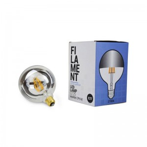 Ampoule Globe Mirroir G125 filament