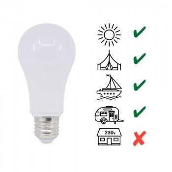 Ampoule 10V / 36V E27 pour caravanes