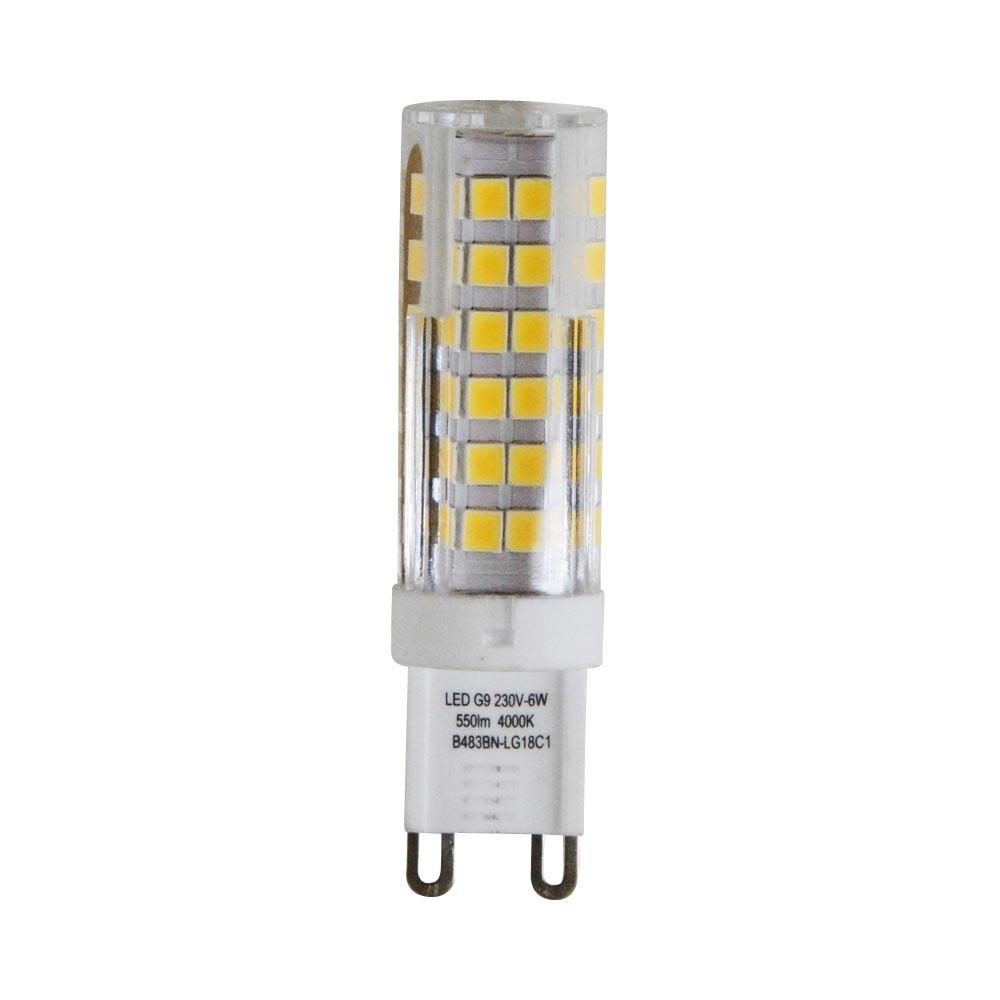 Mes Ampoules Led Scintillent ampoule cylindrique g9 led 6w et remplacez votre halogène.