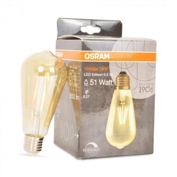Ampoule Vintage 1906 LED OSRAM Dimmable Edison 6,5W/824 E27