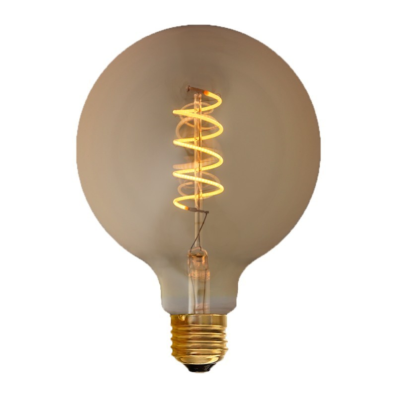 "Ampoule LED filament E27 4W G125 dimmable ""Spirale"""
