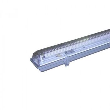 Pantalla estanca LED para T8 120cm 18w