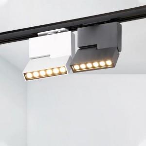 Spot LED 15W pour rail monophasé UGR19