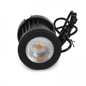 Balise encastrable 12W 12V IP67 Blanc chaud