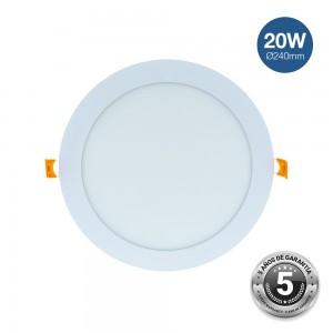 Spot LED encastrable 20W premium - garanti 5 ans