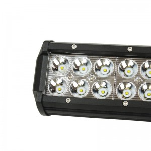 Barre LED pour machine, automobile et bateau 72W -5000lm - Angle fermé