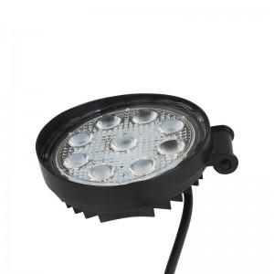 Spot LED pour machine, automobile et bateau 27W  1400lm - Angle Ouvert