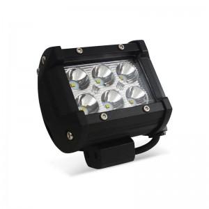 Spot LED pour machine, automobile et bateau 18W - 1800lm - Angle ouvert