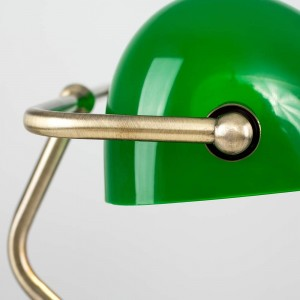 Lampe de bureau « banquier »  E27