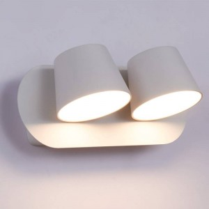 "DOUBLE APPLIQUE MURALE LED ORIENTABLE  ""KOP"""
