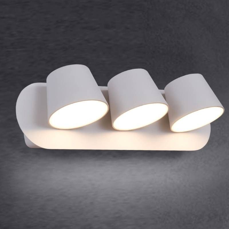 "TRIPLE APPLIQUE MURALE LED ORIENTABLE  ""KOP"""