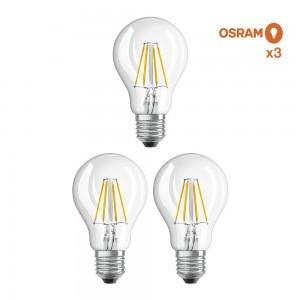 Pack éco 3 ampoules Osram E27 6