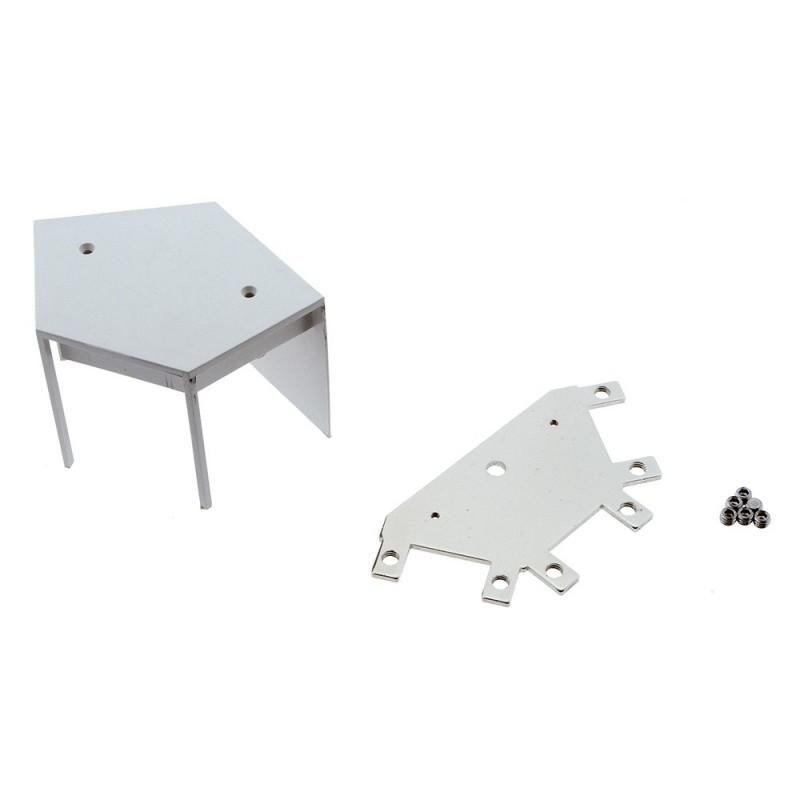 Connecteur d'angle 60º pour linéaires LED