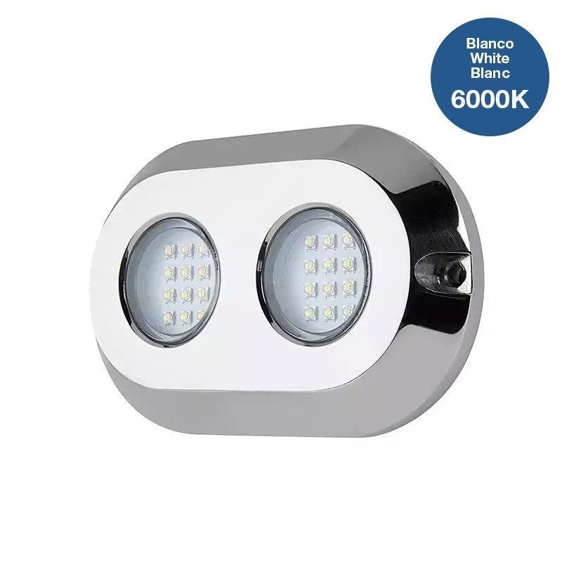 Spot LED submersible pour bateaux 120W