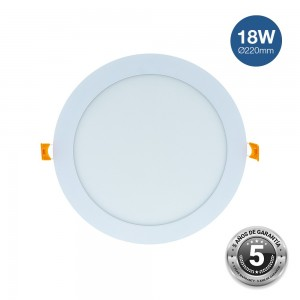 Downlight LED encastrable 18W