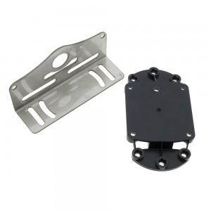 Bracket para soporte y montaje de luces de superficie para barcos