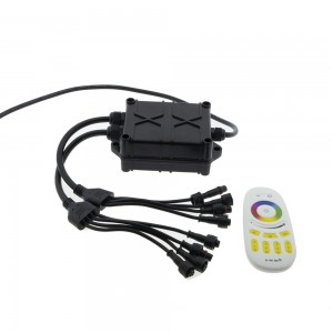 Pack de 6 luces LED RGB ROCK LIGHT para automoción y barcos 12V IP68