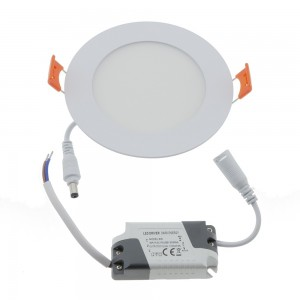 Spot LED encastrable extra-plat rond 6W