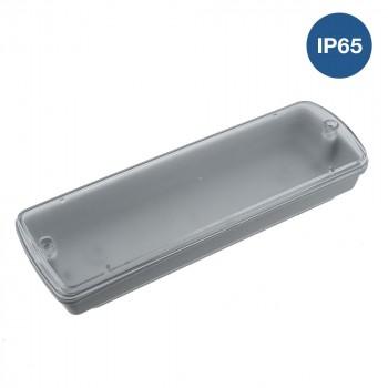 Boîtier étanche pour luminaire de secours IP65