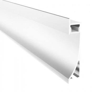 Profilé aluminium encastrable leche mur