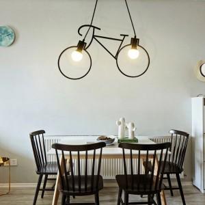 lampe vélo salle à manger