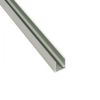 Profilé d'aluminium pour néon LED flexible 22x19mm