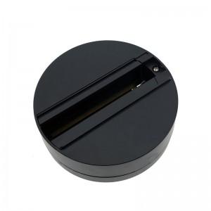 Support adaptateur pour spot LED sur rail triphasé