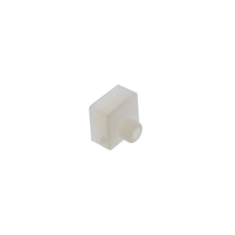 Embout pour profilé flexible en silicone 16x16mm