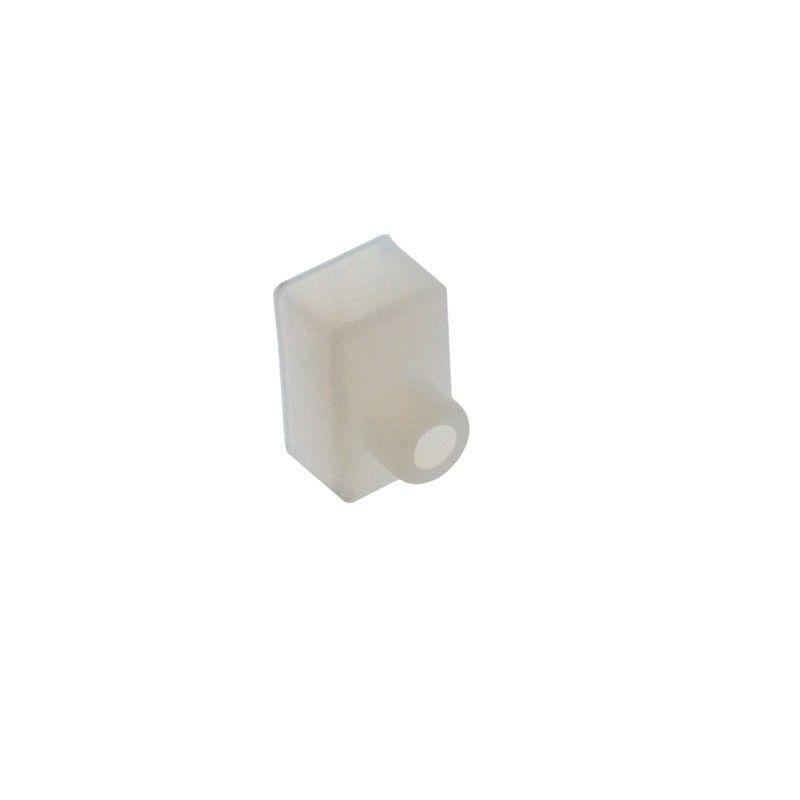 Embout pour profilé flexible en silicone 10x18mm
