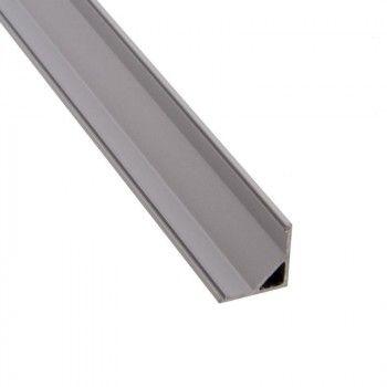 Profilé aluminium de surface angle 45º
