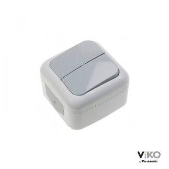 Interruptor de dos vías estanco 10A 250V IP54 VIKO by Panasonic