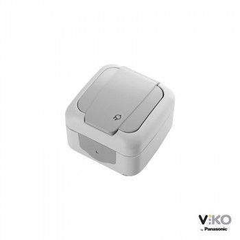 Toma de corriente con tapa 16A 250V IP54 VIKO by Panasonic