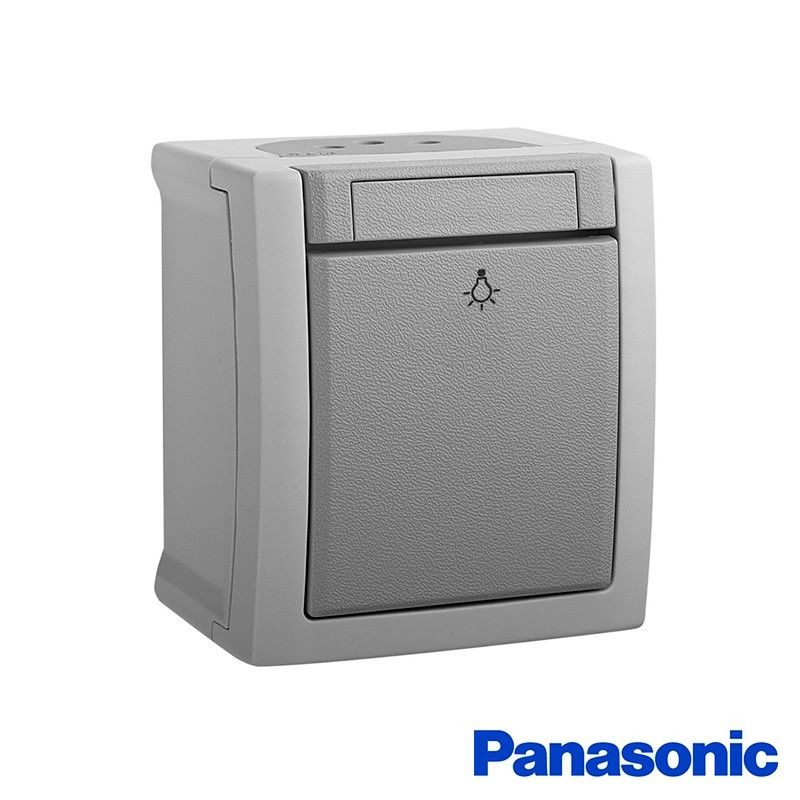 Pulsador estanco 10A 250V IP54 Panasonic Pacific