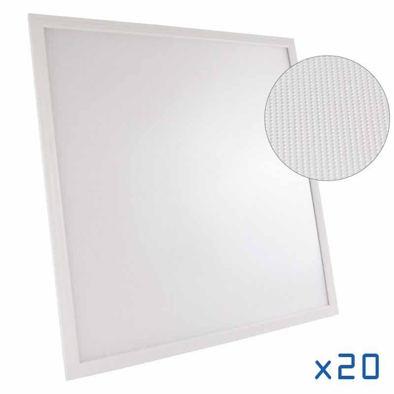 Pack 20 dalles LED 60x60 UGR19 4000K
