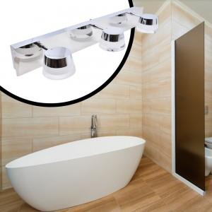 Applique de salle de bain LED Samba Triple 15W IP44 Chrome