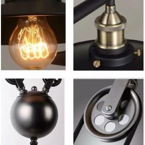 """Lampe suspension """"Clock Work"""""""