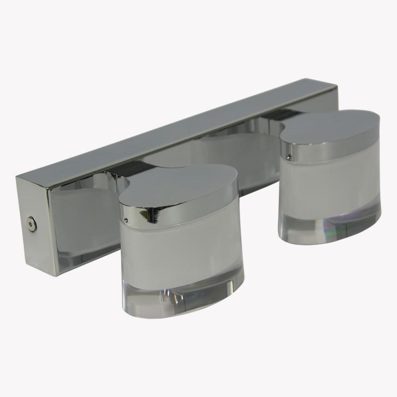 Double applique LED 10W SYON pour salle de bain