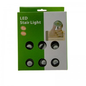 KIT Luces de escalera monocolor IP67 35x24mm